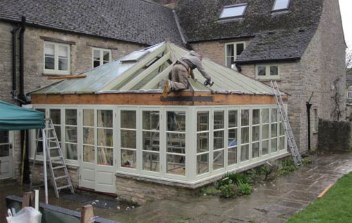 conservatory repairs Berkshire, Surrey and London