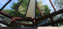 Conservatory - Polycarbonate to glass replacements