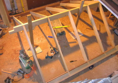 Bespoke timber roof