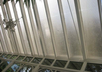 Before-with polycarbonate panels