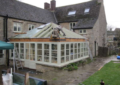 Restoring the existing roof