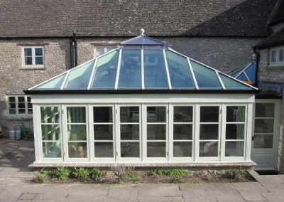 After-newly refurbished conservatory