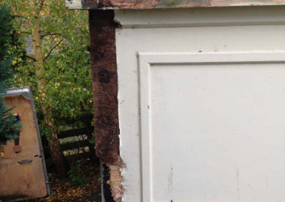Before-rotten timber
