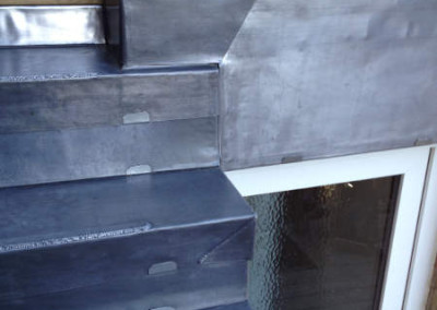 Lead steps and risers