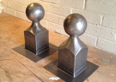 Hand crafted Ball Finials after